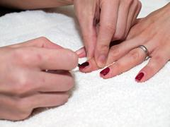 Nails painitng Stock Photos