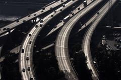 freewaybridges - stock photo