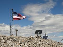 Mt. charleston summet, southern nevada Stock Photos