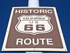 Route 66 kyltti Kuvituskuvat
