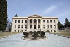 old county courthouse - stock photo