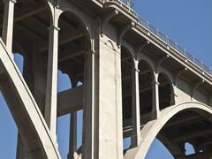 Pasadena california colorado blvd bridge Stock Photos