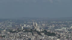 Stock Video Footage of Some scenes of daily Paris, panoramic view from the top