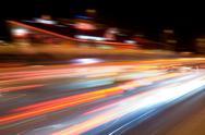 Night speed Stock Photos