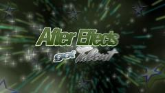 Stock After Effects of AFX Got Talent