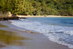Coastline and beautiful beach of Vietnam. Stock Photos