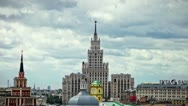 Stock Video Footage of Moscow sky timelapse