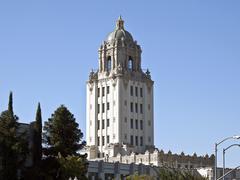 beverly hills city hall - stock photo