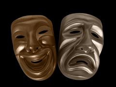 Stock Photo of drama masks