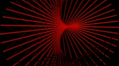 Red twist Stock Footage