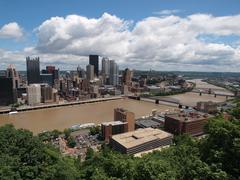 Pittsburgh Hill View Kuvituskuvat