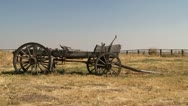 Western wagon Stock Footage