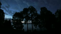 Timelapse Trees and Sky 3 Stock Footage