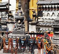 Temple in kathmandu Stock Photos
