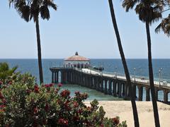 manhattan beach california - stock photo