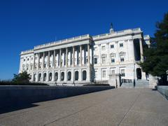 us capitol north side - stock photo