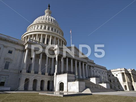 Stock photo of united states capitol