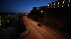 Stock Video Footage of Rhodes Kiotari Road