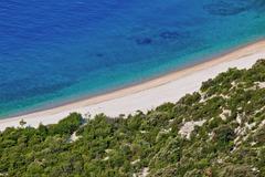 Croatian beach Stock Photos