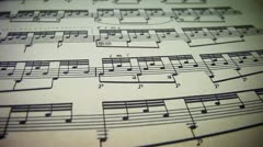 Musical Note Stock Footage