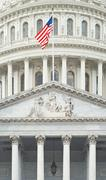 Stock Photo of united states capitol detail