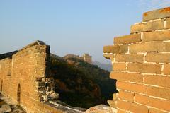 Great wall of china Stock Photos