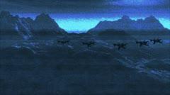Jet Fighters v2 4 Stock Footage