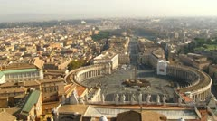Time lapse Vatican City - stock footage