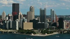 Pittsburgh City Timelapse 2706 - stock footage