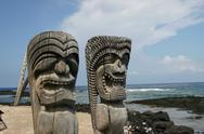 Stock Photo of Artifacts on the Big Island of Hawaii