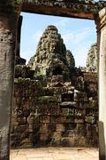 Bayon temple, angkor,  cambodia Stock Photos