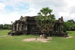 cambodia - angkor wat temple - stock photo