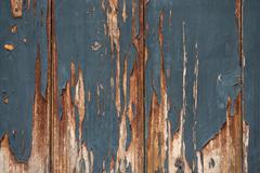 chinese old wooden door - stock photo