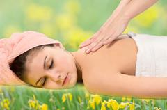 Stock Photo of spa relaxing.massage