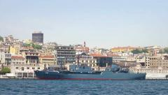 Egypt Navy Warship Stock Footage