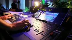Club Sound Stock Footage