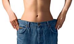 Stock Photo of slim waist. girl's torso