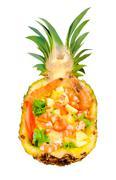 Tropic salad Stock Photos