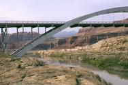 Stock Photo of Beautiful bridge in Utah