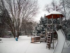 Frozen Playground Stock Photos