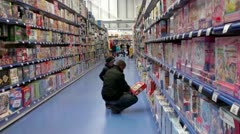 Toy Store - stock footage