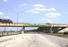 Stock Photo of propaganda on cuban highway
