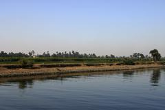Banks of the Nile River Stock Photos