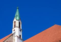 Church steeple Stock Photos