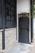 china ancient building - stock photo