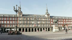 Plaza Mayor Stock Footage