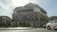 Stock Video Footage of Teatro Real