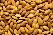 Stock Photo of almonds background