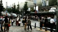 Stock Video Footage of Timelapse of Harajuku street in Tokyo