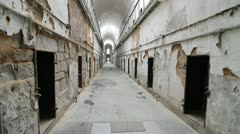 Eastern State Penitentiary Prison Philadelphia - stock footage